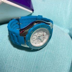 Michele Blue Watch